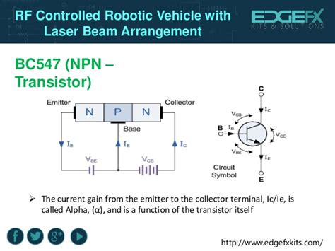 bc547 npn transistor symbol bc547 npn transistor symbol 28 images rf controlled robotic vehicle with laser beam