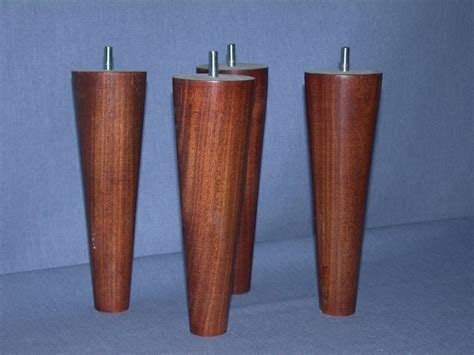 legs for sofas furniture legs 8 quot round full taper uncle bob s workshop