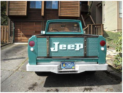 jeep gladiator 1971 1971 jeep gladiator j2000 groosh s garage