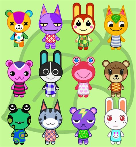 animal crossing animal crossing new leaf character profiles and