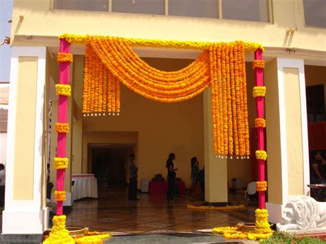 Indian Wedding Entrance Decorations by Exciting Indian Wedding Decoration Ideas For Homes