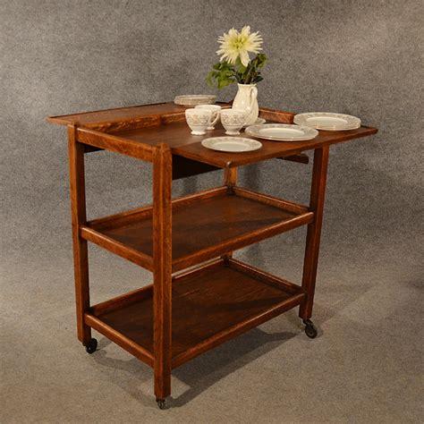 antique buffet tables antique oak serving trolley side table tea butler stand buffet edwardian c1910 338337