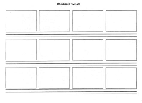 script storyboard 15 exles of storyboard templates word ppt and pdf