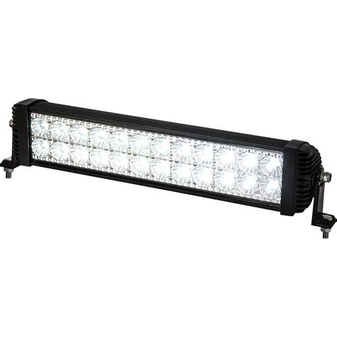 Spot Flood Led Light Bar Buyers Products Company 24 Led Spot Flood Combination Light Bar 1492151 The Home Depot