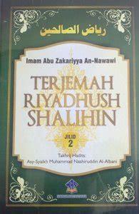 Terjemah Riyadhush Shalihin terjemah riyadhush shalihin jilid 2 hikmah ahlussunnah