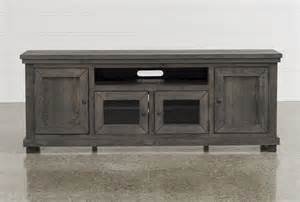 Sinclair grey 74 inch tv console living spaces