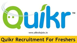 Current Opportunities In Coimbatore For Mba Freshers by Quikr India Recruitment 2018 2019 Openings For