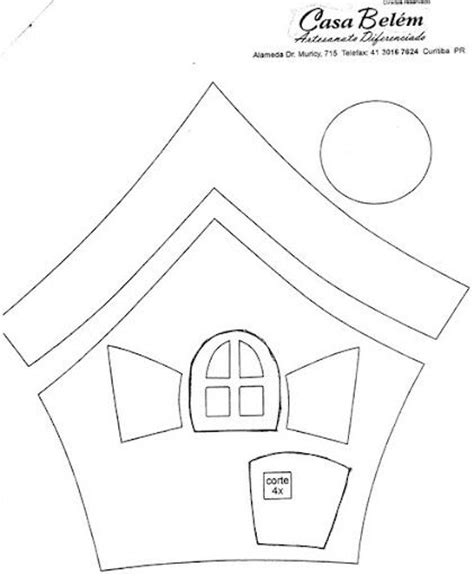 nice felt house template images gallery gt gt make paper