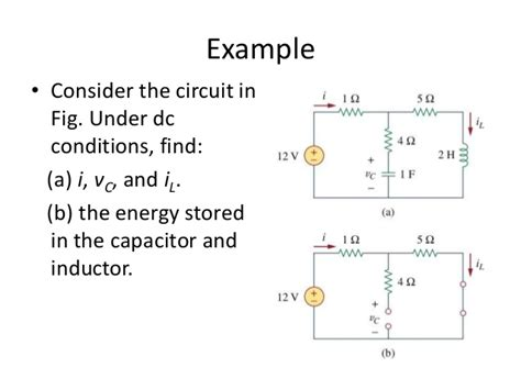 characteristics of inductors in dc circuits open circuit inductor 28 images inductor acts as open circuit 28 images lecture 27 inductors