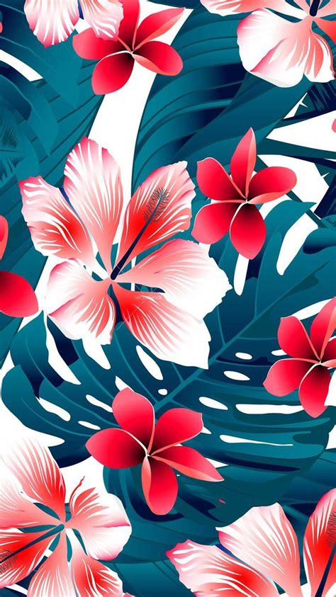 Hawaiian Pattern Iphone Wallpaper | best 25 tropical background ideas on pinterest tropical