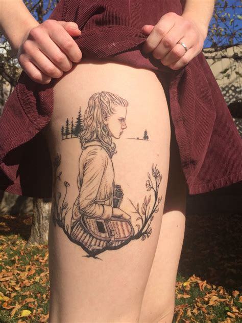 lake city tattoo suzy from wes s quot moonrise kingdom quot done by