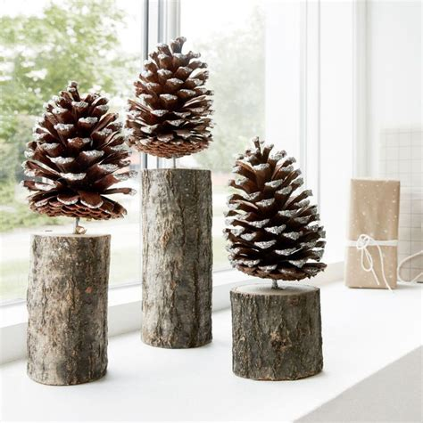 25 best ideas about pinecone decor on pinterest