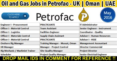 And Gas Mba Uk by And Gas Vacancies In Petrofac 2017
