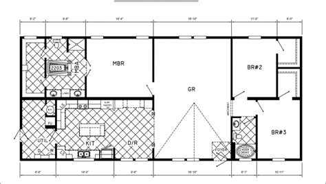 mobile home floor plans 3 bedrooms mobile homes ideas