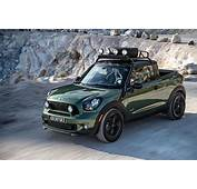 MINI Paceman Pickup Truck Goes Official Has A Snorkel