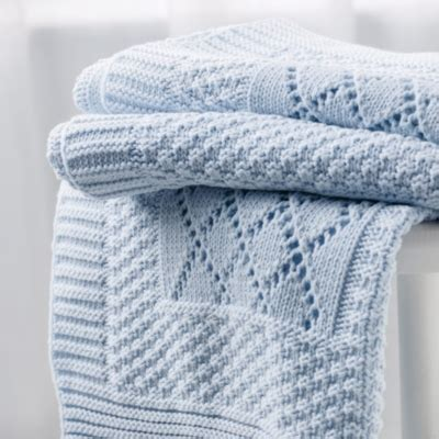 Knitted Patchwork Baby Blanket - knitted patchwork baby blanket baby blankets the white