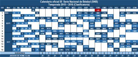 Calendario B Nacional Listo El Calendario De La 55 Serie Nacional La Demajagua