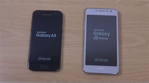 Samsung J2 Vs A3 samsung galaxy a3 2017 vs j2 prime speed test