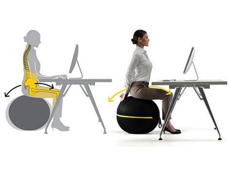fitball come sedia in riunione sulla wellness fitness lab