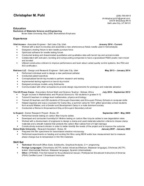resumes without objectives resume without objective resume ideas