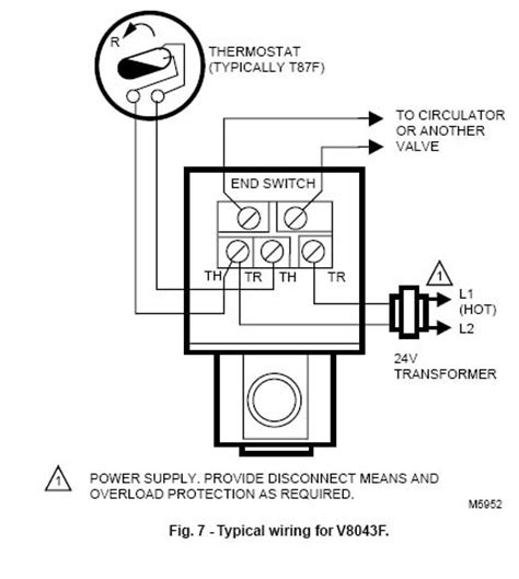 honeywell v8043f1036 wiring diagram v free