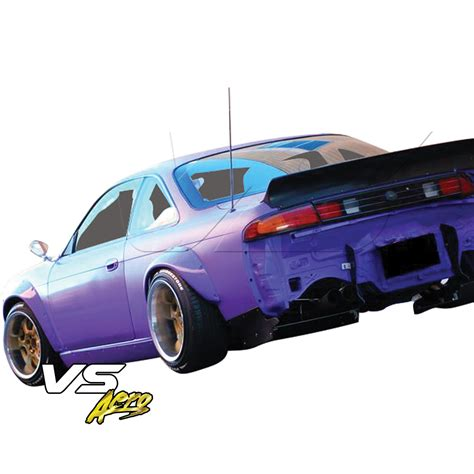 widebody nissan 240sx vsaero tkyo bunny boss wide body kit 15pc s14 for 240sx