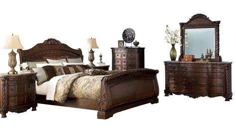 north shore sleigh bed north shore bedroom set bedrooms the classy home
