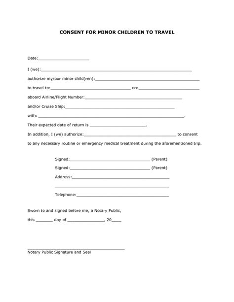 travel consent letter for minor philippines travelling with child consent letter docoments ojazlink