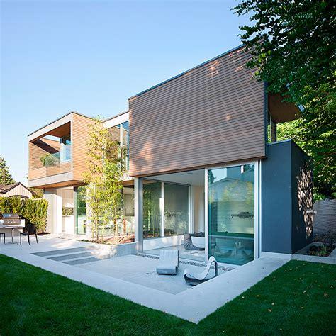 Building A Small Home Office Moderna Residencia En Vancouver Por El Estudio Splyce Design