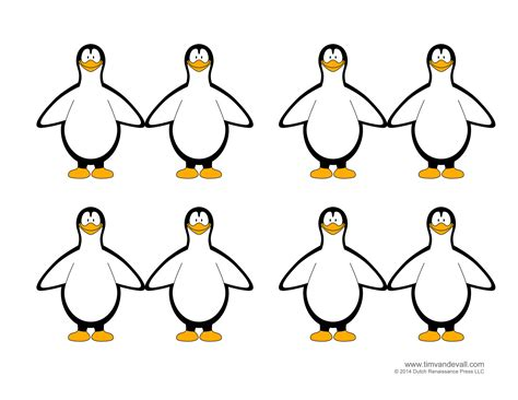 penguin craft template penguin template coloring pages clipart pictures and crafts