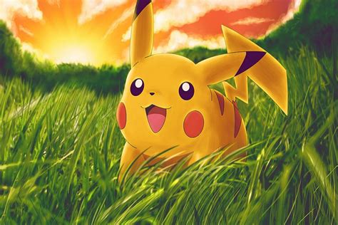 animated best pikachu best animation wallpaper