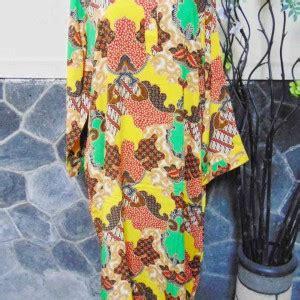 Dress Jumbo Cantik baju tidur santai batik longdress jumbo cantik daster