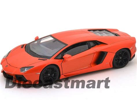 Welly Lamborghini Aventador Orange welly 24033 lamborghini aventador lp700 4 1 24 diecast