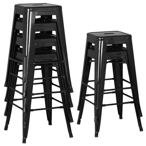metal breakfast bar stools 6pcs metal vintage counter bar stools industrial breakfast