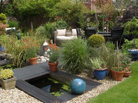 kübelpflanzen garten moderne terrasse idee
