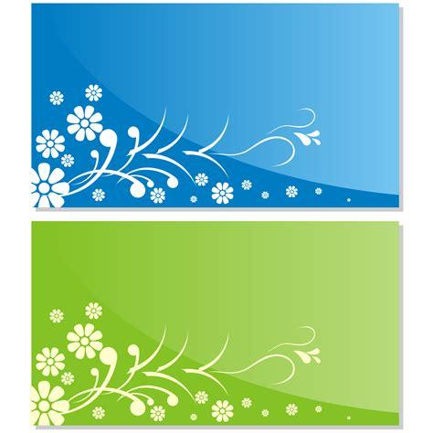 flower business card template illustrator vector for free use flower business card