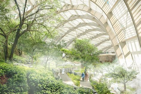 Largest Botanical Gardens In The World Sneak Peek Images Of What Will Become The Largest Botanical Garden In The World Grand