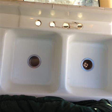 vintage cast iron sink drainboard vintage 1949 richmond basin drainboard