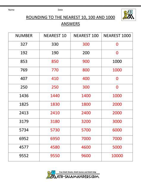 printable estimation games rounding games for 3rd grade printable rounding