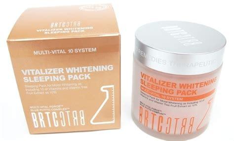 Lotion R By Skin Made In Korea brtc vitalizer whitening sleeping pack korea cosmetics