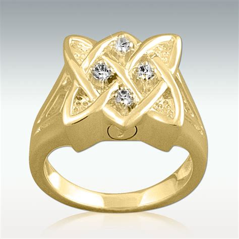 select a beautiful cremation ring for ashes to keep your