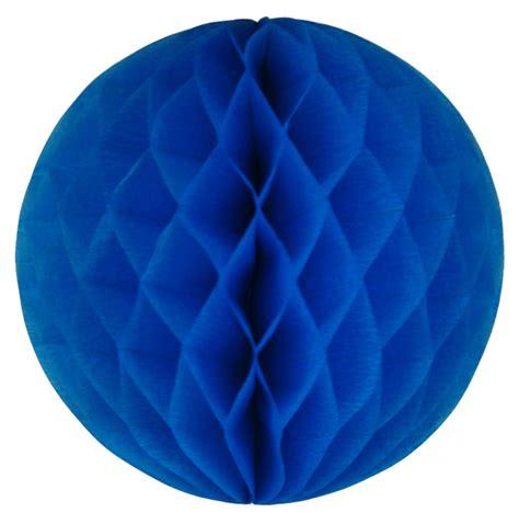 Tissue Paper Balls - tissue paper honeycomb 8inch blue