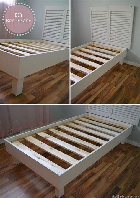 twin headboard diy best 25 diy twin bed frame ideas on pinterest twin