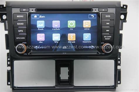 Lcd Yaris zestech car dvd for toyota yaris 2014 dvd gps navigation