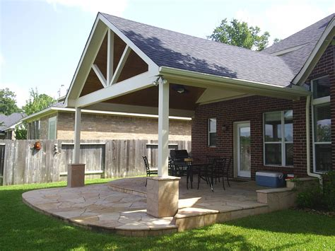 backyard porch ideas we construct and build patio roof extensions to blend in