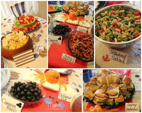 party themes with food birthday party food recipes adults
