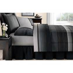 mainstays ombre bed in a bag bedding set walmart com