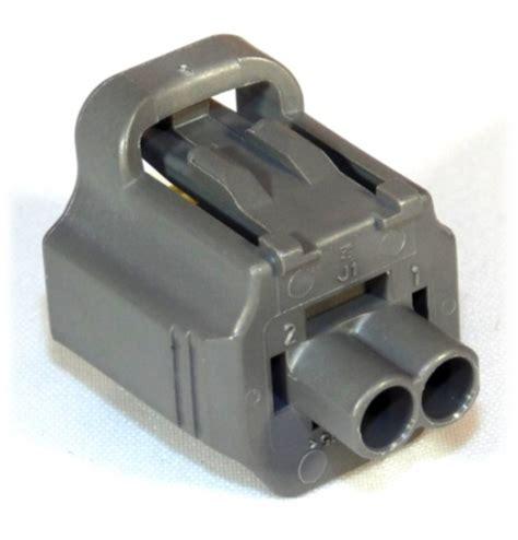 2 way te sealed sensor connector housing grey