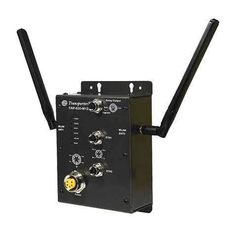 rugged access point tap 620 m12 en50155 wireless access point rugged science rugged industrial computers