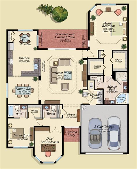 family home floor plan marbella lakes floor plans naples fl marbella lakes